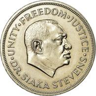 Monnaie, Sierra Leone, Leone, 1974, British Royal Mint, SUP, Copper-nickel - Sierra Leone