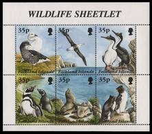 Falkland 1995 - Mi-Nr. 653-658 ** - MNH - Vögel / Birds - Falkland