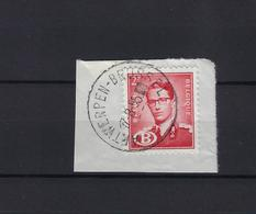N°S58 GESTEMPELD Antwerpen-Brussel 1955 SUPERBE - Dienstzegels