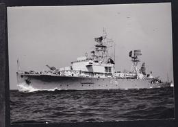 """Fregatte F 216 """"Scheer"""", Karte Beschrieben - Steamers"""