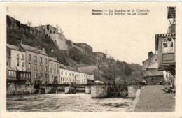 31sp 18 CPA - NAMUR - LA SAMBRE ET LA CITADELLE - Namur