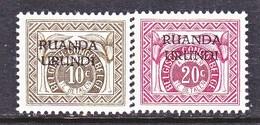RUANDA-URUNDI   J 13-14   * - Ruanda-Urundi