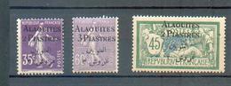 ALA 49 - YT 7-9-11 ** - Alaouites (1923-1930)