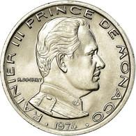 Monnaie, Monaco, Rainier III, Franc, 1974, SPL, Nickel, Gadoury:MC 150, KM:140 - Monaco