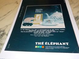 ANCIENNE PUBLICITE  THE DE L ELEPHANT  1969 - Affiches