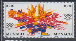 2002-MONACO.N°2336/37** J.O.DE SALT LAKE CITY - Ongebruikt
