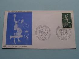 1970 > Championnat Du Monde HAND BALL Tir En Extension - France ( Stamp 21 Fev 1970 Paris ) FDC N° 783 PAC ! - Pallamano