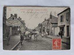 Cercy La Tour -  Avenue De La Gare Le 12 09 1916  (Nievre) France - Otros Municipios