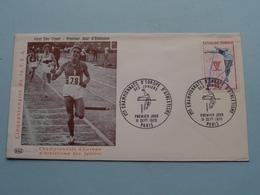 1970 > Championnats D'Europe D'Athlétisme / Cinquantenaire F.F.A. - France ( Stamp 11 Sept 1970 Paris ) FDC And. 34 ! - Atletismo