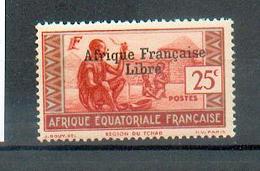 AEF 423 - YT 163 **  (gomme Sèche Par Endroit) - A.E.F. (1936-1958)