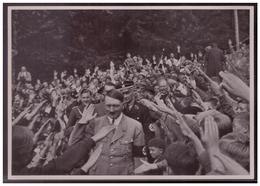DT- Reich (008226) Propaganda Sammelbild Adolf Hitler Bild 58, Der Führer Vor Seinem Landhaus Am Obersalzberg - Germania