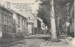 Carte Postale Ancienne De Chateau Thierry Avenue De Soissons - Chateau Thierry