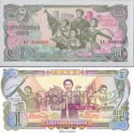 Nord-Korea Pick-Nr: 18a Bankfrisch 1978 1 Won - Corée Du Nord