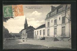 CPA Villecresnes, La Mairie, Les Ecoles - Villecresnes