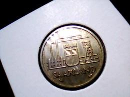 KM 2    20 Franken 1954 - Saarland