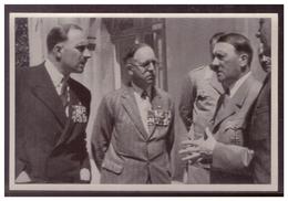 """DT- Reich (008312) Propaganda Sammelbild Adolf Hitler"""""""" Bild 73, Englische Frontkämpfer Beim Führer - Briefe U. Dokumente"""
