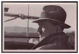 """DT- Reich (008339) Propaganda Sammelbild Adolf Hitler"""""""" Bild 5, Auf Der Fahrt Durch Deutschland - Briefe U. Dokumente"""