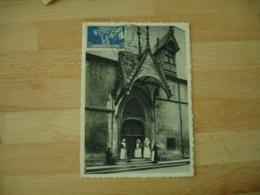 Dondation Hotel Dieu De Beaune C M Carte Maximum - 1940-49