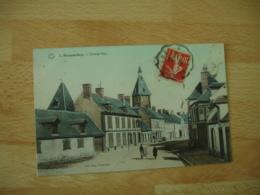 Cpa 28 Senonches Grande Rue  Edi Librairie Papeterie Vinceneux - Francia