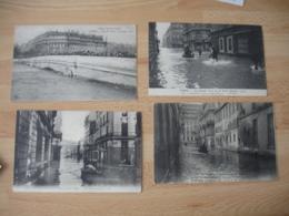 Lot De 11 Cpa  Inondation Inondations De Paris - Paris Flood, 1910
