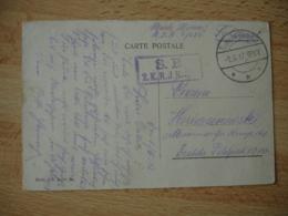 Krieg 39.45 Germany Deutschland Feldpost3 Etoile S B 2 K R J R Tournai  Allemagne Franchise Militaire - Germany
