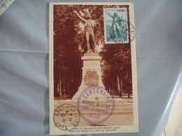 1936 Rouget Lille Lons Le Saunier   Cm Carte Maximum C M - 1940-49