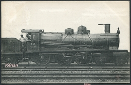 Les Locomotives (EST) - Machine N° 3419 - Type 230 - Edit. F. Fleury. - Voir 2 Scans Et Lire Descriptif - Trains
