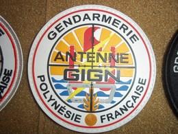 PATCH ECUSSON GENDARMERIE ORIGINAL GIGN POLYNESIE - Police & Gendarmerie