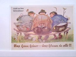 AK München - Gruß Aus Dem Hofbräuhaus, Uns Kann Keiner...uns Können Sie Alle!!! Humor, Satire. - Allemagne