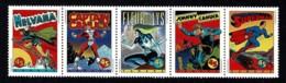 Canada 1995 Comic Book Superheroes Set As Strip Of 5 MNH - Nuevos