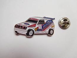 Beau Pin's , Auto 4X4 Mitsubishi  Rallye , Lubrifiants Shell , Pneu Michelin , Tabac Rothmans , Facom - Mitsubishi