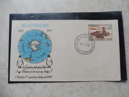Fdc Belgique Antarctique 1958 - 1951-60