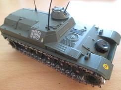 Pas Pour Toi Gaston07 MAUVAIS PAYEUR !!! CHAR AMX13T  / Véhicule De Marque SOLIDO , état NEUF , Série ATLAS Ou HACHETTE - Panzer