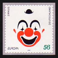 2272 Europa Clown Selbstklebend GERADE Nummer, Postfrisch ** - BRD