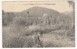 Environs De DIJON - Le Suzon à VAL-SUZON-BAS - Animée, Pêcheur à La Ligne - Altri Comuni