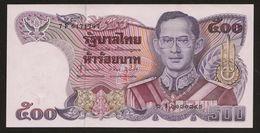 500 Baht Serie 13 Sign 62 Thailand 1987 UNC - Thailand