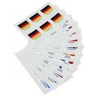 Schaubek FS-853 Flaggen-Sticker Insel Man - Zubehör