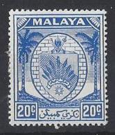 "MALAYA...."" NEGRI SEMBILAN ."" ...KING GEORGE VI..(1936-52.)....20c........SG54........MH... - Negri Sembilan"