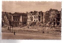 REF 472 : CPA 44 NANTES Après Les Bombardements Le Quai Brancas - Nantes