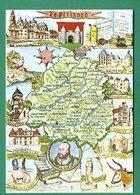24 Périgord ( Huile De Noix, Cepes, Chercheur De Truffes Cochon, Champignons, Funghi, Brantome, Terrasson, Mareuil - France