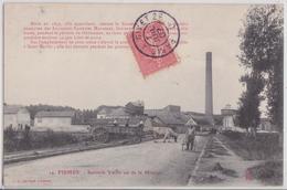 FISMES (51 Marne) - Sucrerie Vieille Ou De La Mission Attelage De Boeufs - Fismes