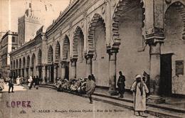 MAROC - ALGER - MOSQUEE DJEMAA DJEDID RUE DE LA MARINE - Alger