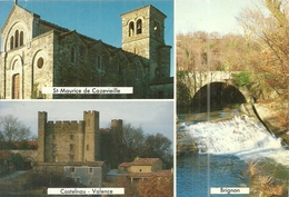 ( VEZENOBRES     )( 30 GARD )CANTON DE VEZENOBRES .(ST MAURICE DE CAZEVIEILLE)( CASTELNAU) (VALENCE)( BRIGNON) - Sonstige Gemeinden