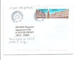 N°3605 SEUL SUR LETTRE DE CACHAN 2003 - Marcophilie (Lettres)