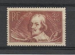 FRANCE 1936 YT 330 Neuf* Sans Gomme Jacques CALLOT / Cote 2020 = 3.00 Euros // - Ungebraucht