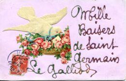 N°5359 T -cpa Mille Baisers De Saint Germain Le Gaillard- - France