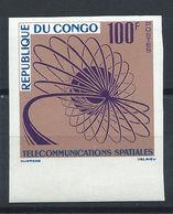 Congo N°155** (MNH) 1963 N. Dentelé - Télécommunications Spatiales (bis) - Congo - Brazzaville