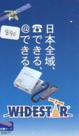 Télécarte  SATELLITE (890) ESPACE * TERRESTRE * MAPPEMONDE * Telefonkarte Phonecard * GLOBE - Espace