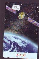 Télécarte  SATELLITE (892) ESPACE * TERRESTRE * MAPPEMONDE * Telefonkarte Phonecard * GLOBE - Espace
