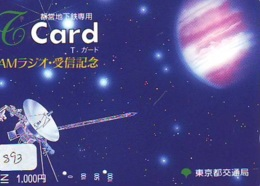 Carte  SATELLITE (893) ESPACE * TERRESTRE * MAPPEMONDE * Karte  * Card * GLOBE - Ruimtevaart